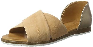 Women's Size38eu Apple Toe Beige Sandals Of Eden Open Chiusi PukXiOZ