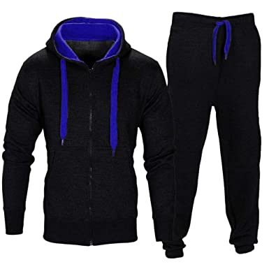 b8251642a39f Mens Coat Sweatpants Set