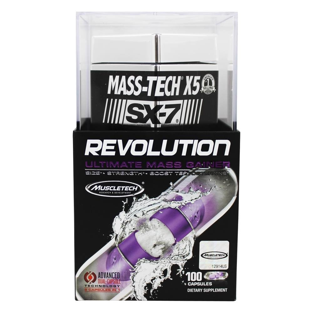 MuscleTech Mass-Tech X5 XS-7 Revolution by MuscleTech (Image #1)
