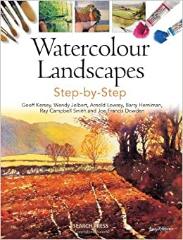 Book Watercolour Landscapes Step-by-Step by Geoff Kersey (2014-07-15)