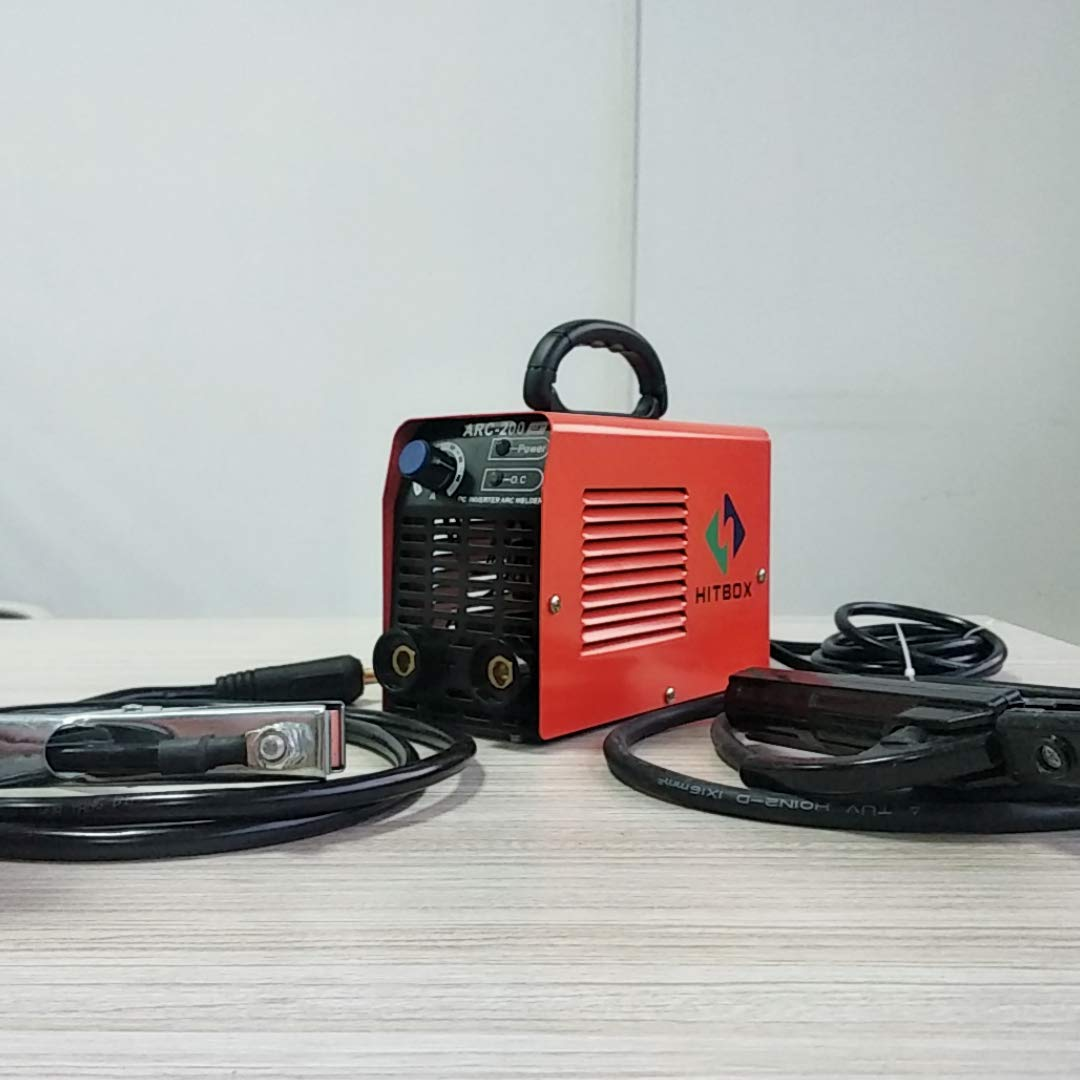 Mini Portable ARC Welding Machine Rod Stick MMA 220V Inverter Welder ARC200 HITBOX Shenzhen Unitweld Welding and Motor Co. Ltd.