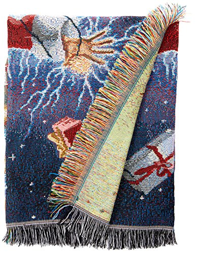 Warner Bros National Lampoons' Christmas Vacation, Shocking Chevy Woven Tapestry Throw Blanket, 48