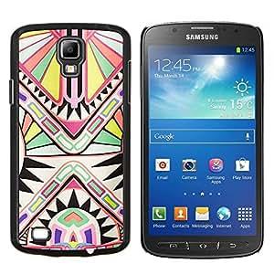 Stuss Case / Funda Carcasa protectora - Patrón de Arte Antiguo Blanca - Samsung Galaxy S4 Active i9295