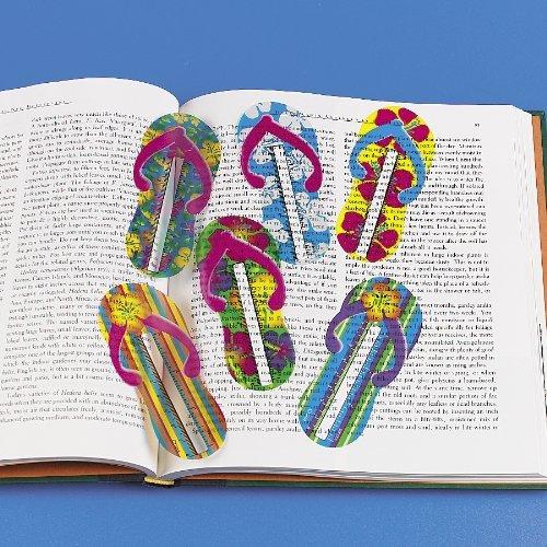 Flip Flop Ruler Bookmarks (4 dz) (Bookmark Flip Flop)