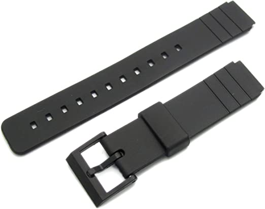 Bracelet de montre en résine 16 mm 260F10 pour Casio AQ42  ig3MU