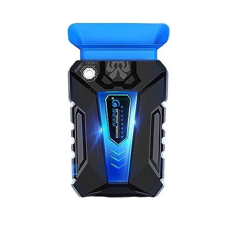 Hanbaili Enfriador de juego portátil para laptop, un enfriamiento más rápido y USB accionado,