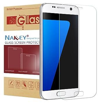 Galaxy S7 Protector de Pantalla, Nakeey Cristal templado Galaxy S7 Protector de pantalla de Ultra