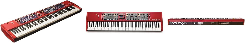 Clavia DMI AB Nord Stage 2 SW73 - Teclado MIDI (USB, 110,5 cm, 30,2 cm, 10,6 cm)