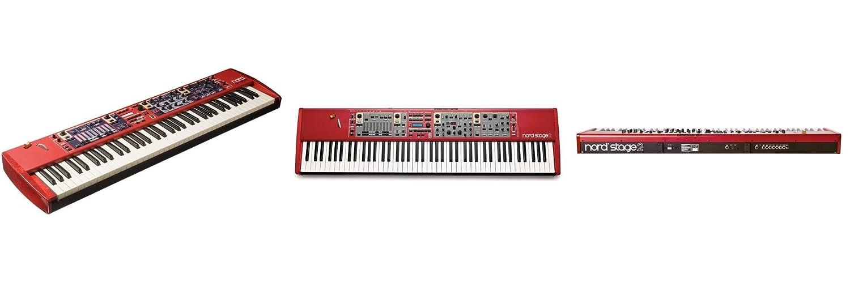 Clavia DMI AB Nord Stage 2 SW73 - Teclado MIDI (USB, 110,5 cm, 30,2 cm, 10,6 cm): Amazon.es: Instrumentos musicales