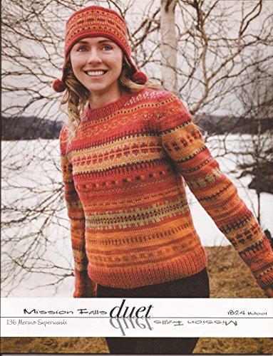 Duet Pattern - Mission Falls Duet Knitting Pattern Book