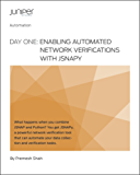 Day One: Enabling Automated Network Verifications with JSNAPy (English Edition)