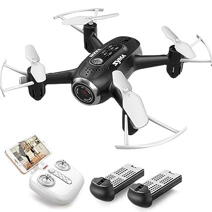 a2630eb989c SYMA X22W Mini Drone with Camera Live Video FPV Nano Pocket Drone for Kids  and Beginners