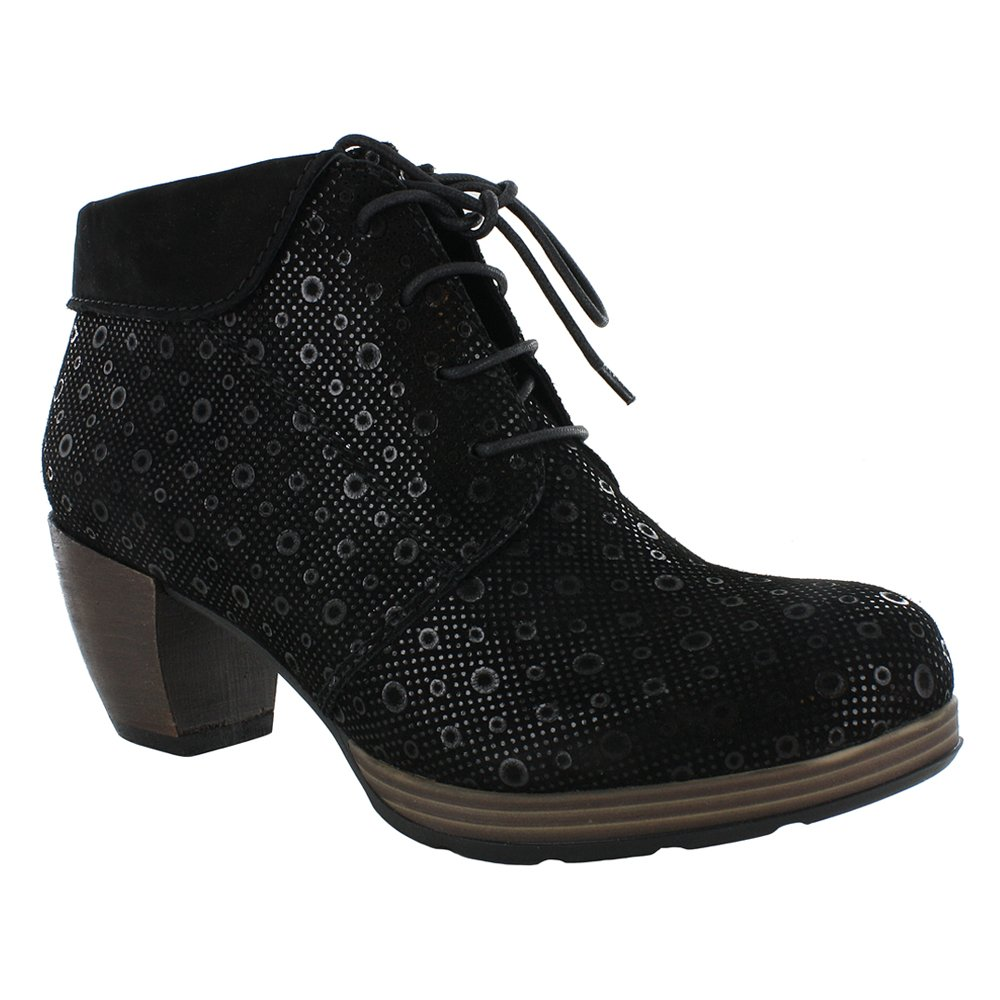 Wolky Comfort Boots 07983 Jacquerie B01DWM36TY 38 M EU / 6.5-7 B(M) US|Black Drops Printed Seude