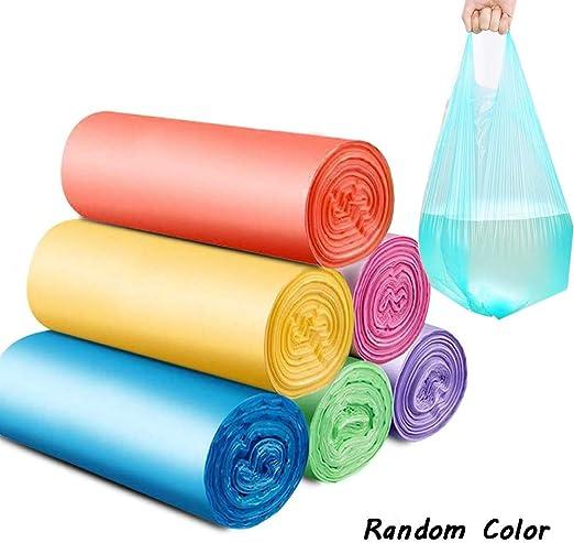 M-TOP Bolsas Basura Biodegradables 30 litros, Bolsas Plastico Asas ...