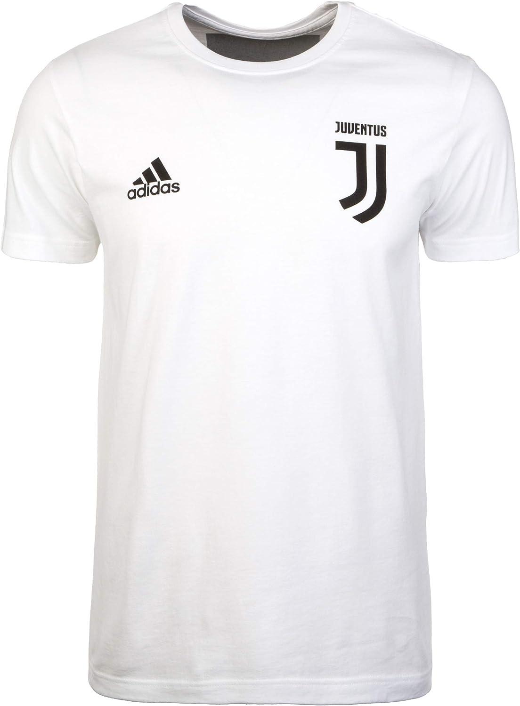 Adidas Juventus Graphic 2018-2019, Camiseta, White-Black: Amazon ...