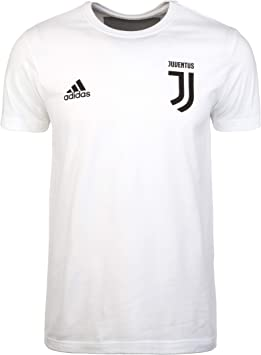 Adidas Juventus Graphic 2018-2019, Camiseta, White-Black: Amazon ...