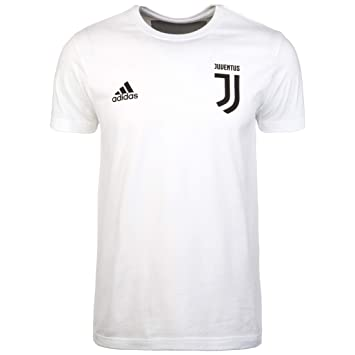 Adidas Juventus Graphic 2018-2019, Camiseta, White-Black