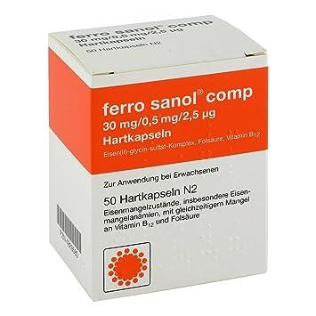 Magnetic sanol Comp. Cápsulas, 50 unidades: Amazon.es: Salud y cuidado personal