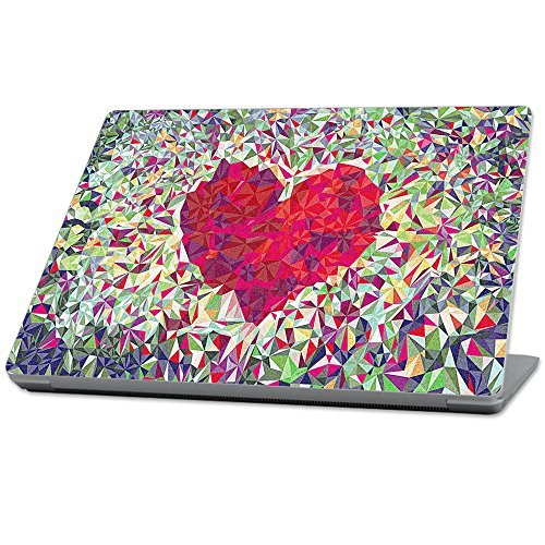 【国内在庫】 MightySkins Protective Durable and B0789938NJ Unique Vinyl wrap cover (2017) [並行輸入品] Skin for Microsoft Surface Laptop (2017) 13.3 - Stained Heart Red (MISURLAP-Stained Heart) [並行輸入品] B0789938NJ, 正規店仕入れの:2fe32ad1 --- senas.4x4.lt