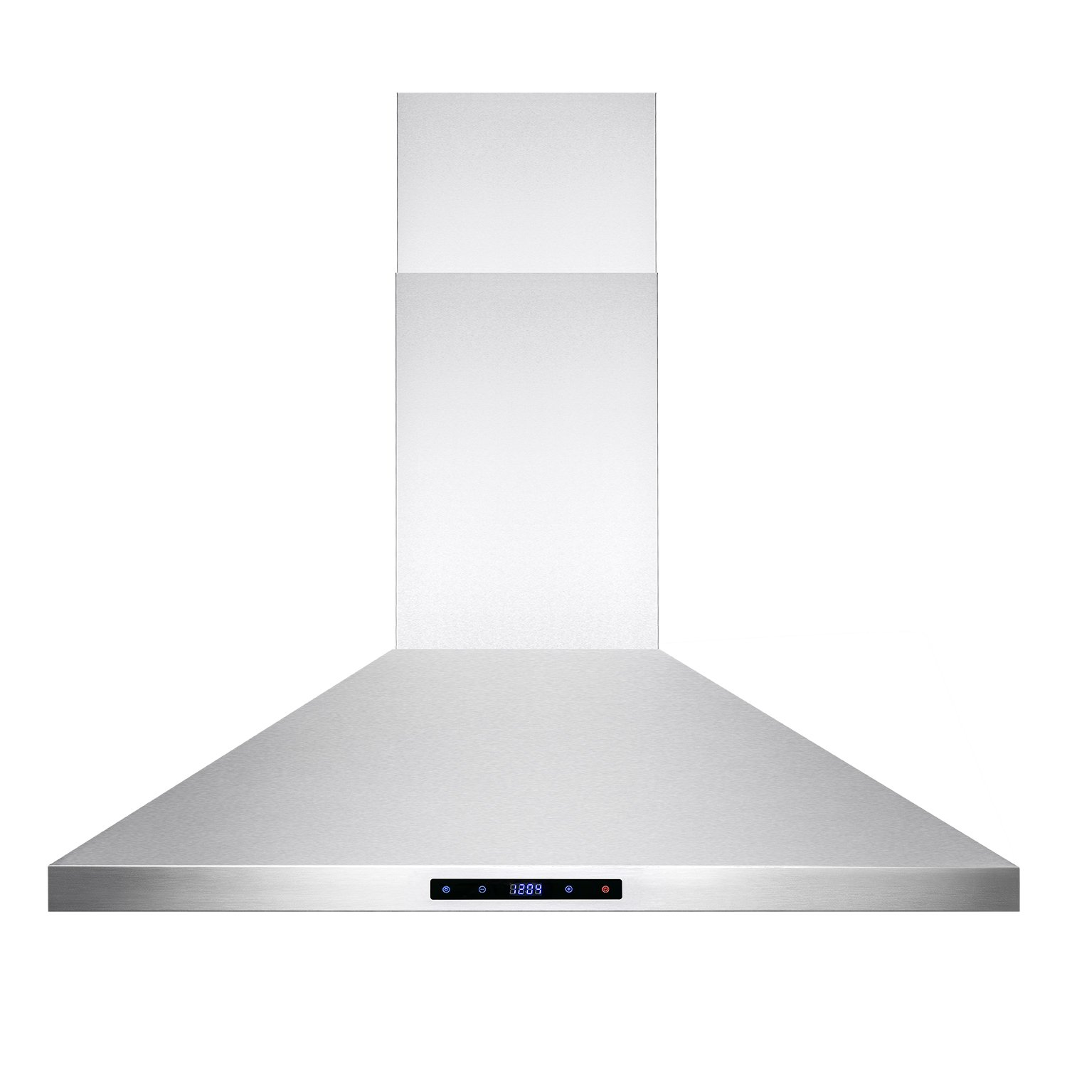 amazoncom firebird stainless steel wall mount range hood 36inch carbon filters included appliances