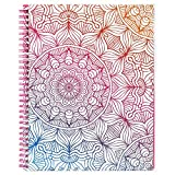 "2019 Planner - Academic Weekly & Monthly Planner with 12 Month Tabs, Twin-Wire Binding with Flexible Pocket Cover, 8"" x 10"" - Christmas Gift"