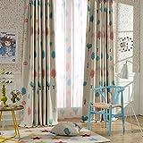 "Melodieux Cartoon Trees Blackout Grommet Top Curtains/Drapes for Children Room, 52""Wx96""L (1 Panel)"