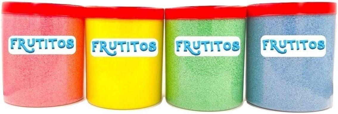 FRUTITOSCOM - Algodón Nubes de Azúcar Pack 4 sabores - (4 x 500 gr ...