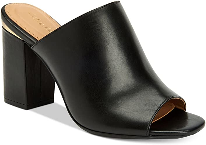 Calvin Klein Womens Cicelle Peep-Toe