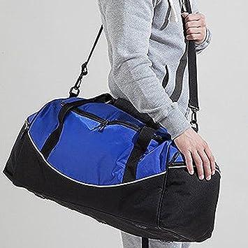 Black Sports Bag Gym Holdall Weekend