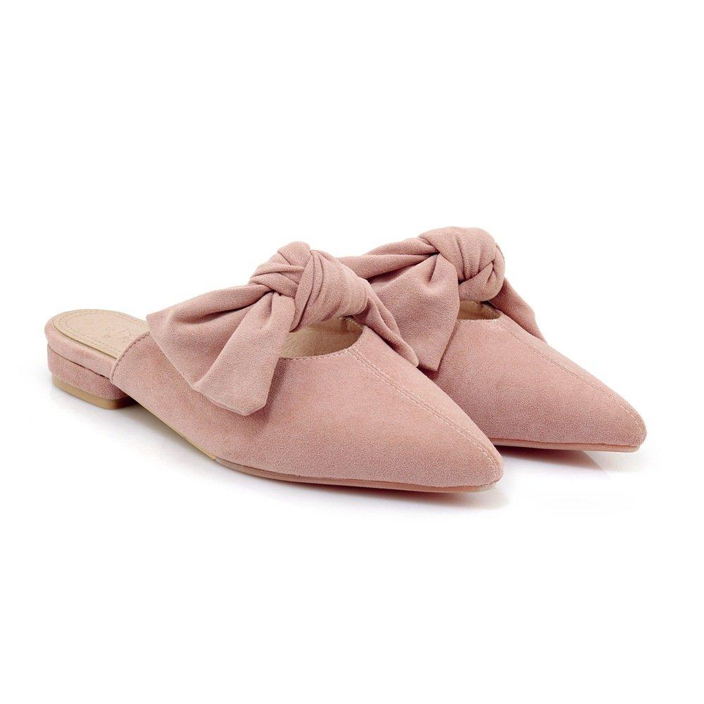 Sandales pour Sandales Femmes B00MY4MVGQ à Talons Rose Bas, Pantoufles Rose ff09d0a - piero.space
