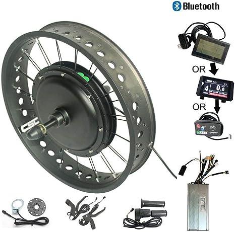 WENHU LCD3 190Mm-Eléctrico Rueda Trasera Kit Fat Nieve Bicicleta ...
