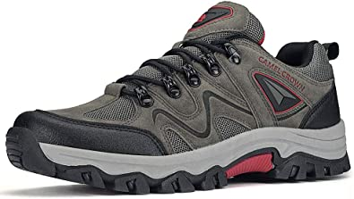 CAMEL CROWN Mens Hiking Shoes Non-Slip