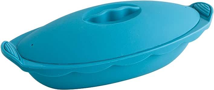 Quid Vaporera de Silicona, Azul, 45 cm, 3: Amazon.es: Hogar