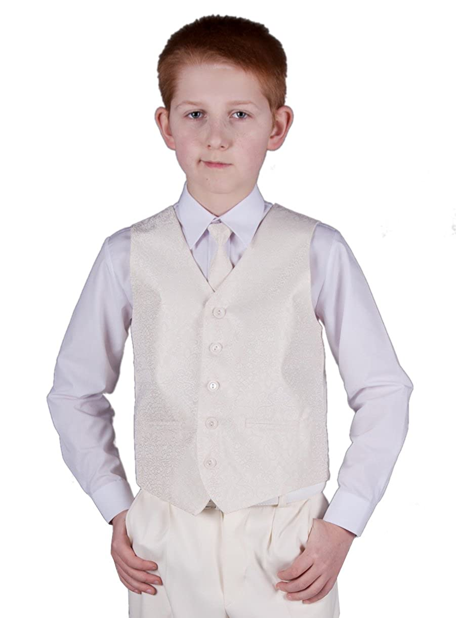 Chaleco + corbata niño y bebé marfil para boda – Producto stocké y ...