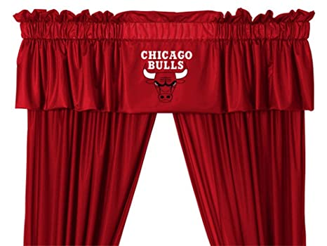 Chicago Blackhawks Shower Curtain In Bright Red Sports Coverage
