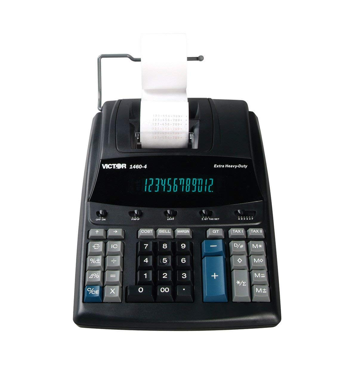 Victor 1460-4 12 Digit Extra Heavy Duty Commercial Printing Calculator by Victor