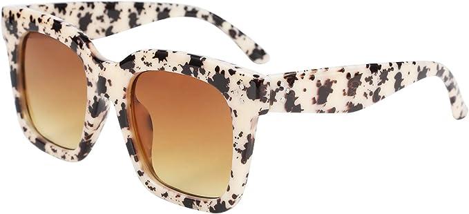 Arbeiten Sie Weinlese Frauen Designer Retro runde Sonnenbrille übergroße