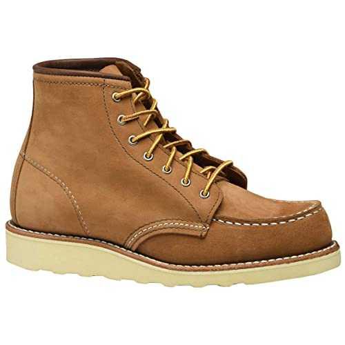 eda671b95eb Red Wing Womens 6 Inch Moc Nubuck Boots