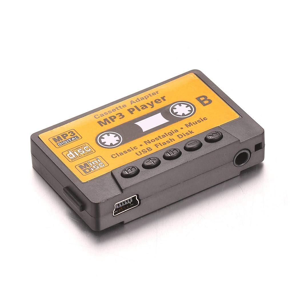 UpBeauty Cassette Style Portable USB MP3 Mini Music Player with TF Card Slot MP3 & MP4 Players