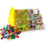 arkCRAFT KID0010 Glitter Pony Beads