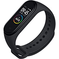 SHOPTOSHOP Smart Band M4 Fitness Tracker Watch Heart Rate with Activity Tracker Waterproof Body Functions Like Steps Counter, Calorie Counter, Blood Pressure, Heart Rate Monitor LED Touchscreen