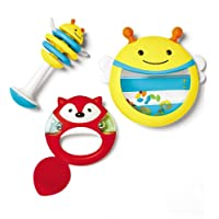 Skip Hop Explore & More Musical Instrument Toy Set, Yellow