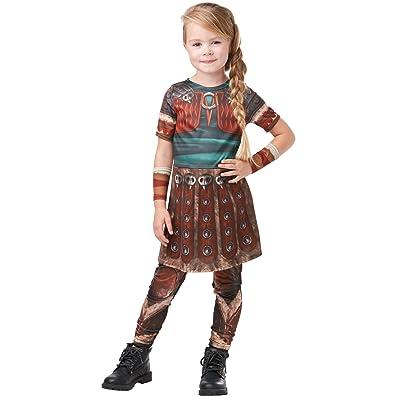 Rubies 641469M How to Train Your Dragon Fancy Dress, Niñas, Multicolor: Juguetes y juegos