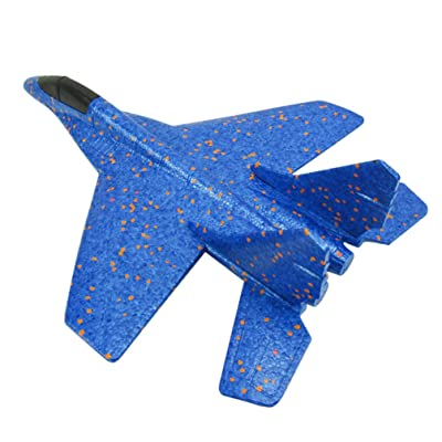 NUOBESTY Fighter Aircraft Outdoor Foam Assembly EPP Glider Airplane Toys Aerobatic Planes for Boys Girls Gift for Christmas: Kitchen & Dining [5Bkhe1104598]