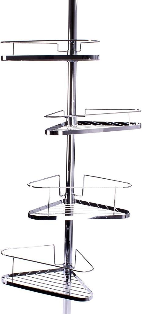 Plateado Metal Inalsa Estante Colgador para 16 Copas 34 x 25 x 4 cm