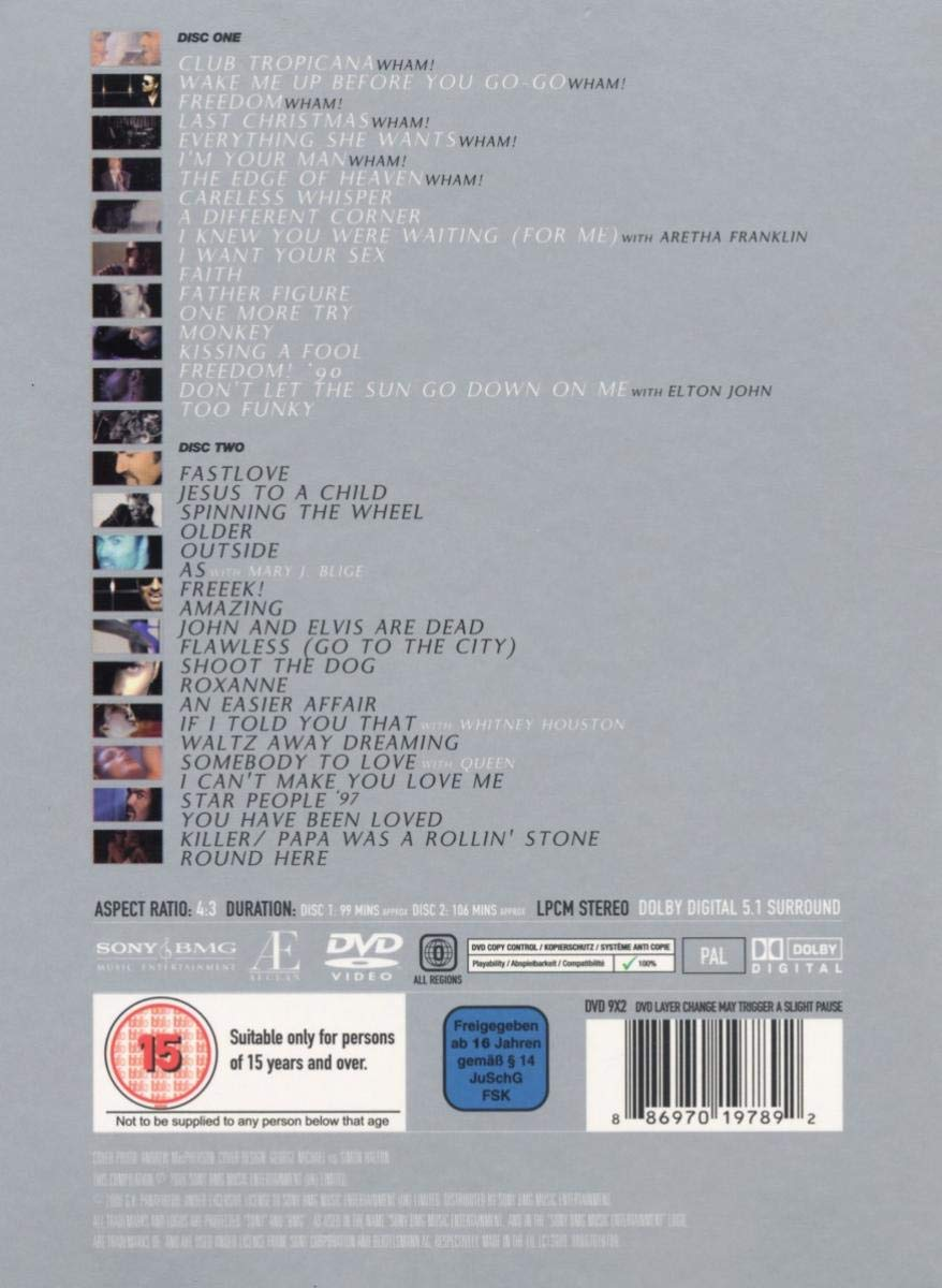 George Michael - Twenty Five [DVD]: Amazon.es: George Michael ...
