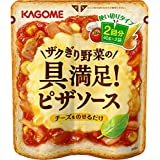 Kagome Zaku law vegetable ingredients satisfaction pizza sauce 40g ~ 2 ~ 6 pieces