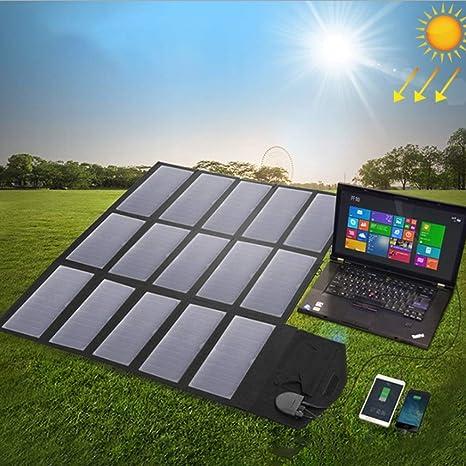 ANZQTAIYANG Cargador Solar portátil, Cargador de teléfono ...