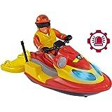 Smoby 7/109251662002N–Sam el bombero–Moto acuática Juno–+ 1figura incluida