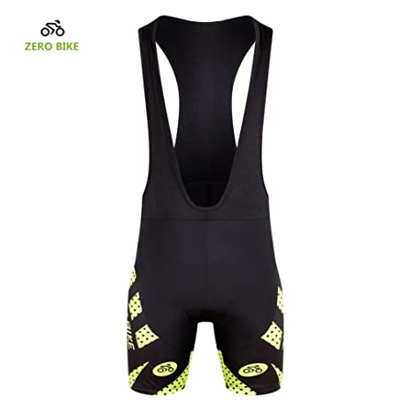 Zerobike Men S Short 3d Padded Cycling Bib